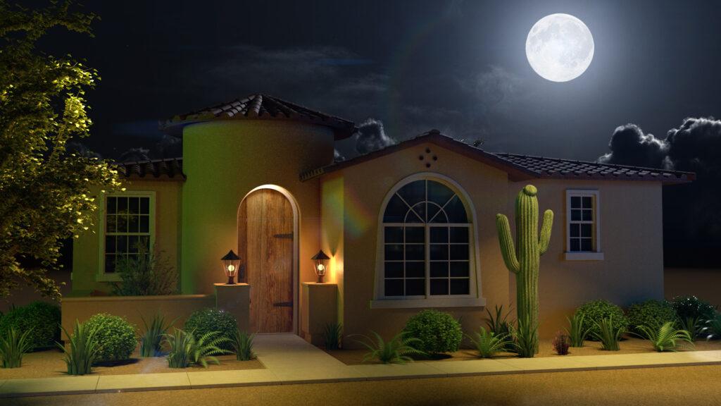 Termite Environment House