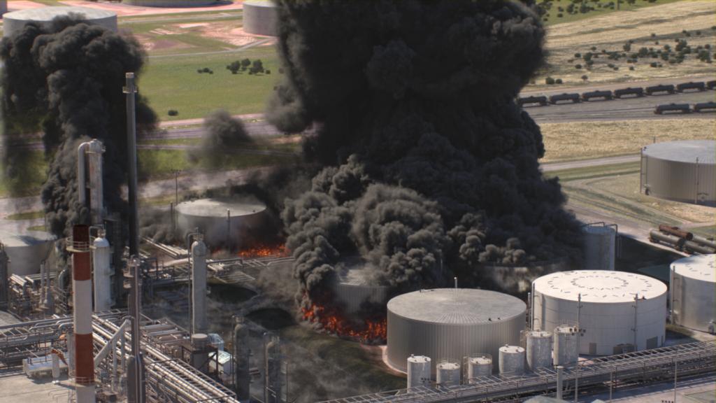 Husky Energy Solutions Asphalt Fire